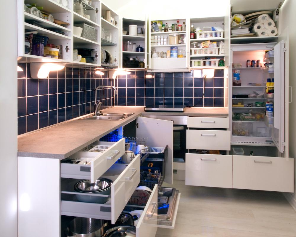 日常に見慣れているキッチンの光景